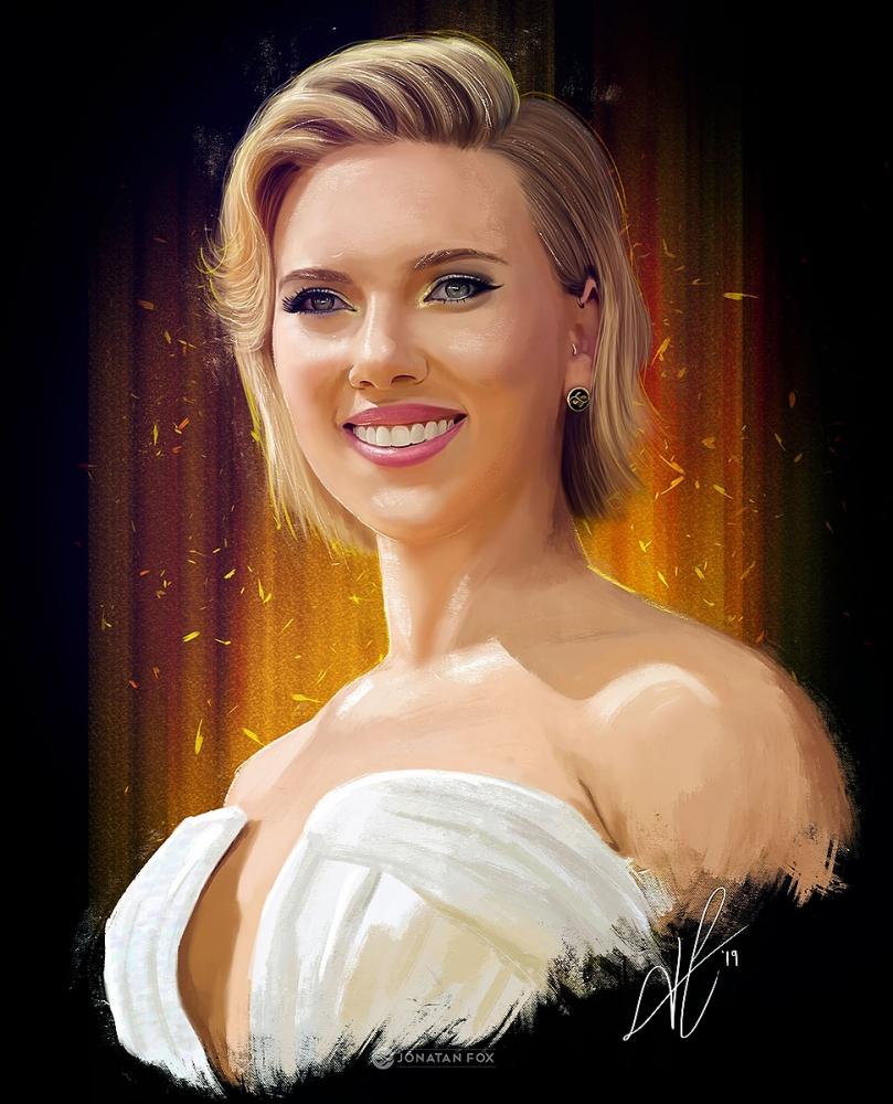 Scarlett Johansson par JonatanFox